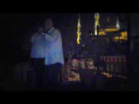 Istanbul Tango With Blue Mosque in Background