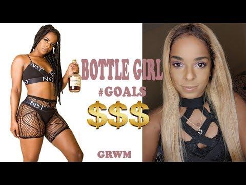 GRWM How to Bottle Girl | Club Waitress