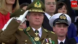 Gran Parada Militar Chile 2015 HD 720p Parte (3/4)