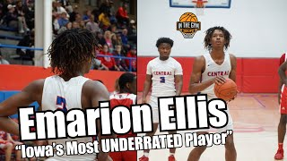 HEATED Game Gets Scrappy as D1 Guard Emarion Ellis Gets Busy