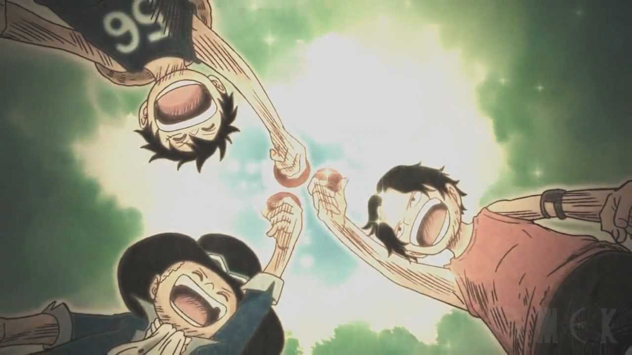 [ One Piece ] The Way Of Freedom - [Luffy,Ace, Sabo] - YouTube