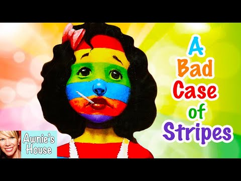 📚 Kids Book Read Aloud: A BAD CASE OF STRIPES By David Shannon