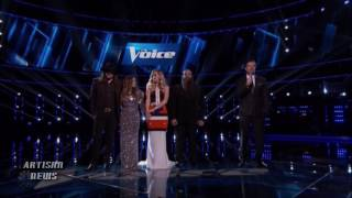 THE VOICE WINNER IS.... ALISAN PORTER; XTINA \u0026 ARIANA GRANDE, CEE-LO