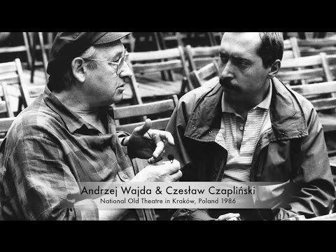 Andrzej WAJDA - Czeslaw CZAPLINSKI Exhibition