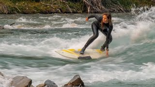 Rocky Mountain River Surfing 2017 | 4K Ultra HD