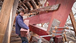 Timber Boat Building - Installing Stern Assembly /EP44