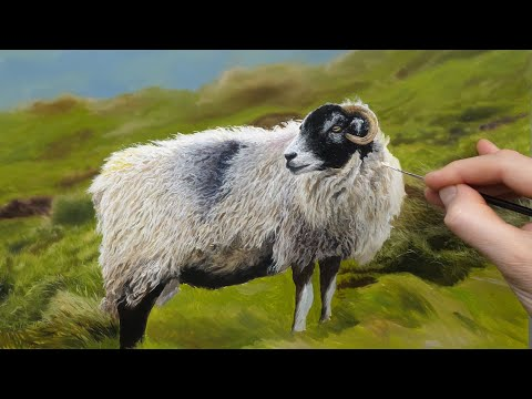 Painting A Sheep   Timelapse Episode #161