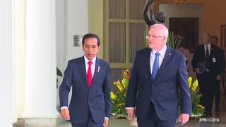 Rangkaian Acara Penyambutan Resmi Perdana Menteri Australia Mr. Scott Morisson MP, 31 Agustus 2018