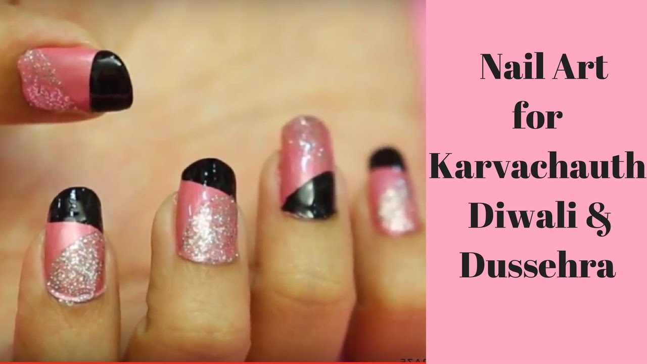 Super Easy Pink Nail Art Design For Any Occasion Youtube