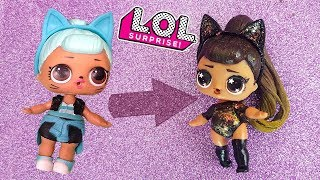 La LOL Surprise diventa ARIANA GRANDE! [Tutorial DIY Italiano]