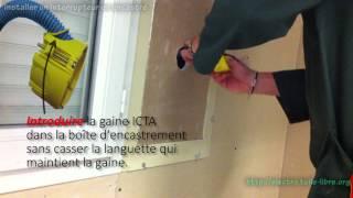Installer un interrupteur va-et-vient encastré dans une cloison sèche (plâtre)