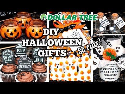 DIY DOLLAR TREE EASY HALLOWEEN GIFTS & TREATS