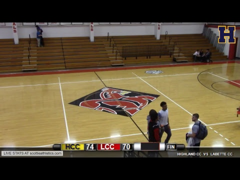Highland Men's Basketball at Labette Community College
