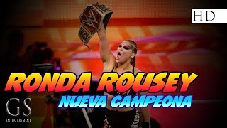 Ronda Rousey Vs Alexa Bliss - SummerSlam 2018 en español HD