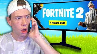 I Called Gamestop And They JUST Leaked Fortnite 2 Beta...