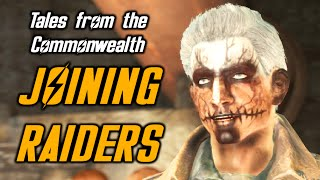 Fallout 4 JOINING RAIDERS - Radio Raiders Quest - Tales from the Commonwealth