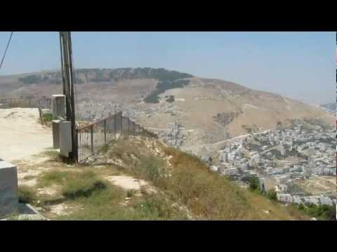 View from Mt. Gerizim, Shechem