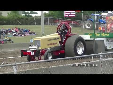 LIGHT LIMITED SUPER STOCK TRACTORS FORT RECOVERY, OH GRAND NATIONAL EVENT JULY 31ST 2021