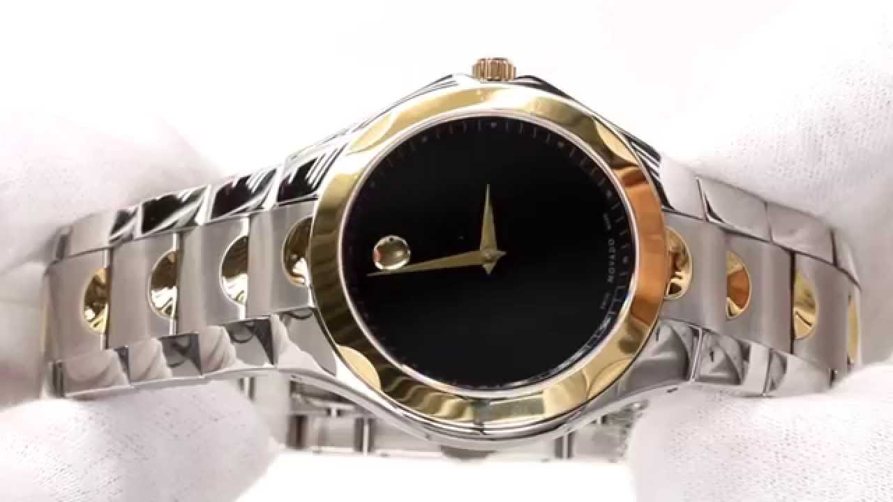 watches mens black stainless coated luno movado steel watch s men sport pvd product