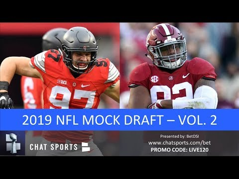2019 NFL Mock Draft: 1st Round Projections Featuring Nick Bosa, Quinnen Williams, Drew Lock (Vol. 2)