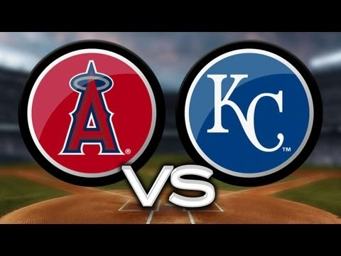 5/23/13: Angels ride four homers in win vs. Royals