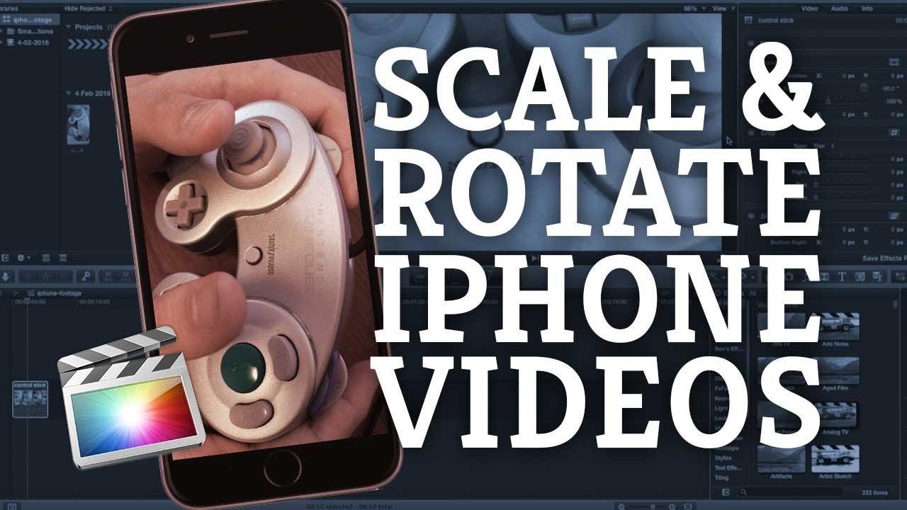 Final cut pro x tutorial rotating scaling iphone other video final cut pro x tutorial rotating scaling iphone other video footage youtube ccuart Gallery