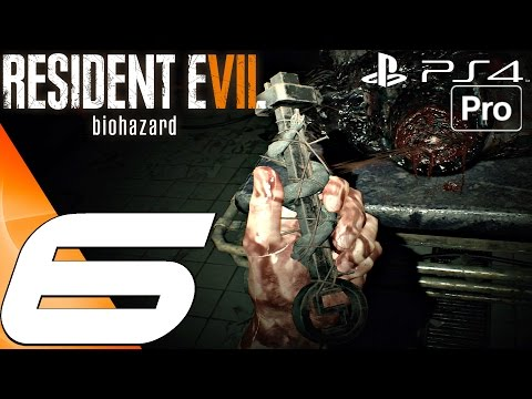 Resident Evil 7 - Gameplay Walkthrough Part 6 - Two Keycards & Snake Key (PS4 PRO)