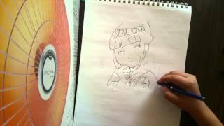 Drawing Hinata again  part 2