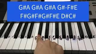 Naagin Tune | Notes keyboard | piano tutorial
