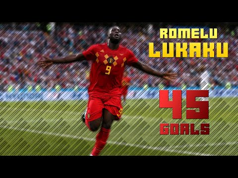 Romelu Lukaku - All 45 Goals for Belgium - 2018