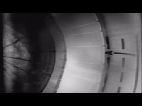 Saturn 1B Rocket Test Fuel Tank Camera Shows Hydrogen Slosh