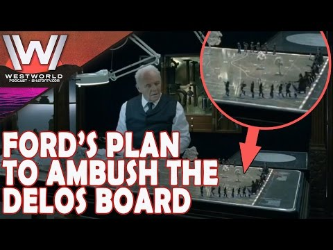 Westworld (HBO) Dr. Ford's Secret Plan to Kill the Delos Board Members