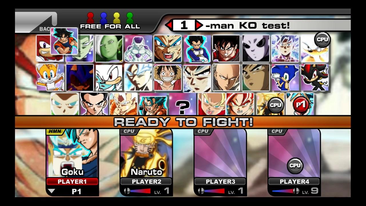 Super Smash Flash 2 Com Mods + Link De Download Na Descriçao Do Video