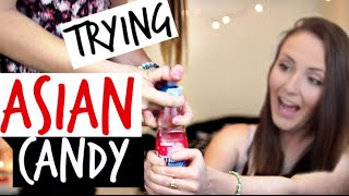 Americans Try Asian Candy!