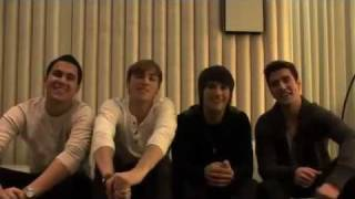 Big Time Rush wish you a Happy Valentines Day!