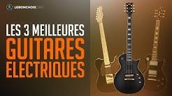 🔴 TOP 3 : MEILLEURE GUITARE ÉLECTRIQUE 2020❓( COMPARATIF & TEST )