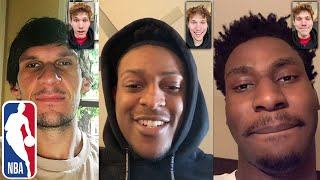 I FaceTimed NBA Players During SEASON Suspension!