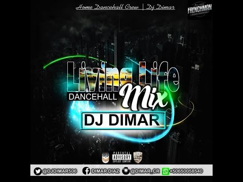 DJ DIMAR  - LIVING LIFE DANCEHALL MIX AUG 2016