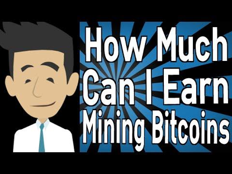 how do you make money mining bitcoins