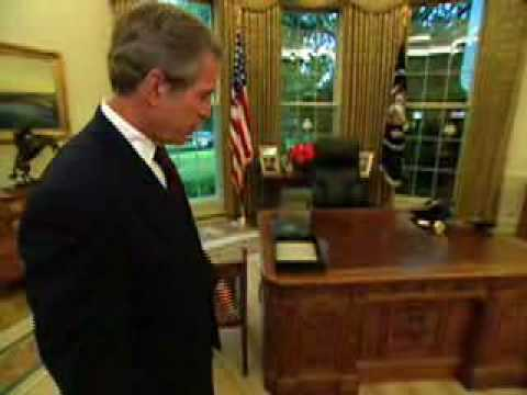 Obama & Bush Meeting Place at White House - An Intro to Oval Office