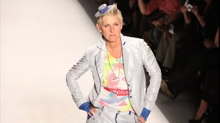 Ellen Crashes a New York Fashion Week Show
