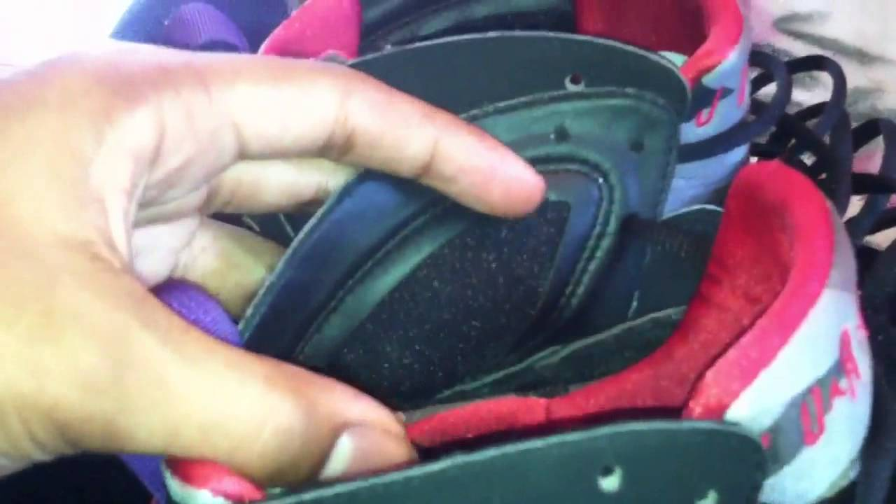 a42dd75eaa66 Real   Fakes comparisons of Jordan Raptor 7s - YouTube
