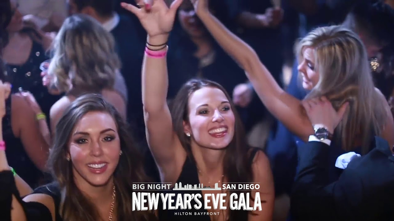 Big Night San Diego New Year's Eve Gala - YouTube