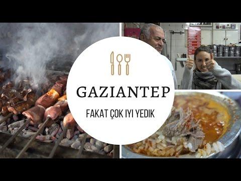 GAZİANTEP'TE NE YENİR? // Cansu Dengey