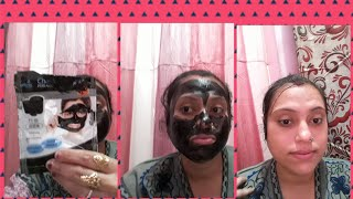 Review for charcoal face mask.
