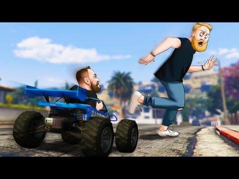 Humans VS RC Car Challenge! | GTA5 |