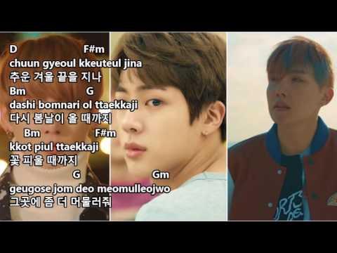 BTS 방탄소년단 - Spring Day Lyrics And Chords