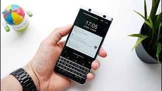 Обзор BlackBerry KEYone: распаковка и первые впечатления