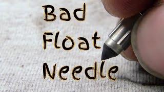 What Does a Bad Float Needle Valve Look Like Carburetor Inspection en450 454 Motorcycle