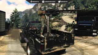 GTA 5 ONLINE HEIST VEHICLES   NEW APC Tank, Hydra Jet, Hunter Chopper & MORE! GTA 5 Heist Cars